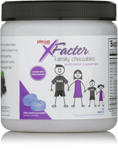plexus x-factor family chewables
