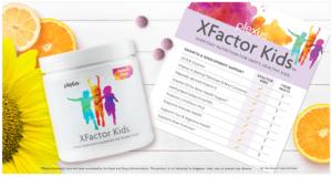 plexus xfactor kids checklist